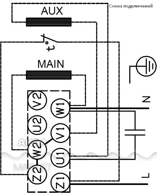 Схема катушки зажигания четырехвыводная