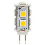 ������������ ����� (LED) G4 Feron LB-402 9LEDs(2W) 12V 2700K 13*23mm (5 ��)