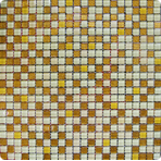 ���������� ��������� ����� ORRO mosaic GLASS IMPERIAL YELLOW
